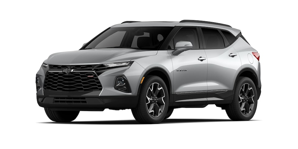 Chevrolet Blazer 2021 color plata brillante